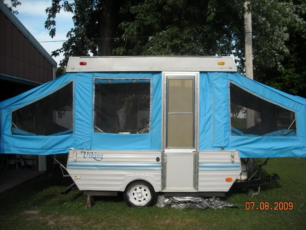 Great canvas replacement for pop up camper. They got everything off ebay  but you can