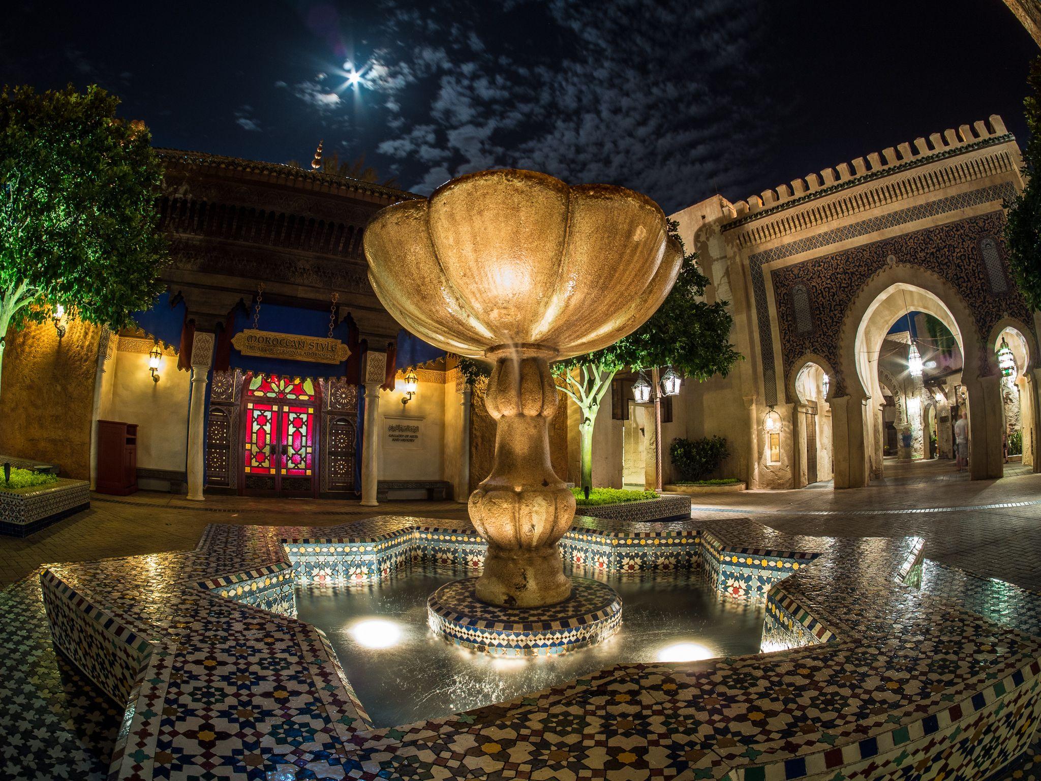 Avond in Marokko