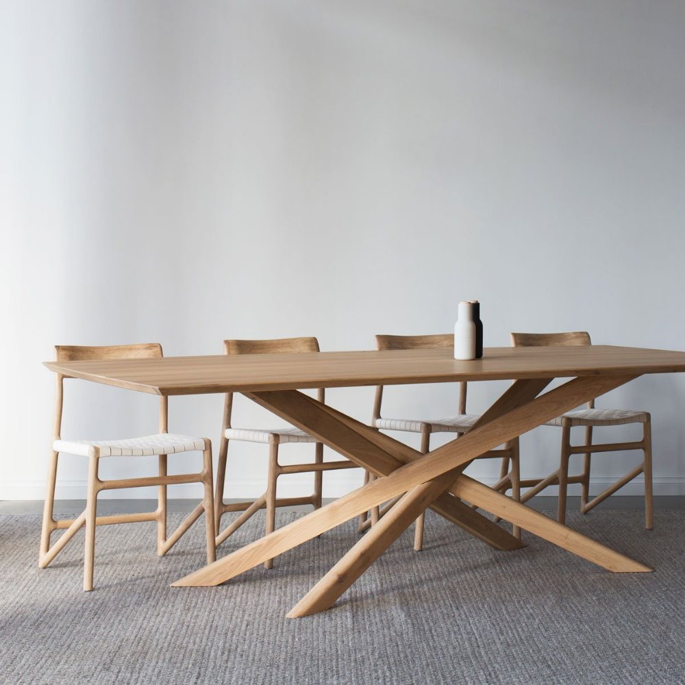 Oak Mikado Dining Table Oval Google Search Ethnicraft Dining