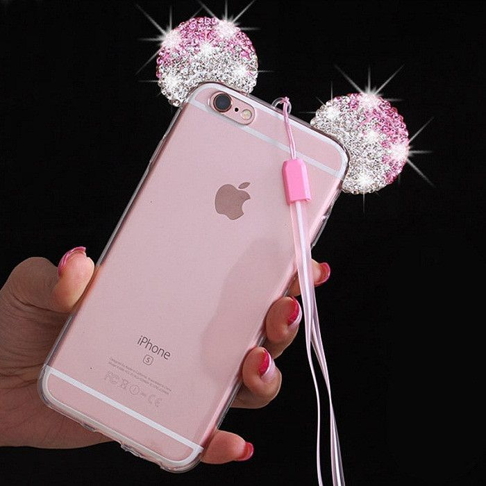 info for 02399 95684 HIgh Quality 3D Mickey Mouse Ear Case For iPhone 6 6S 4.7 Inch ...
