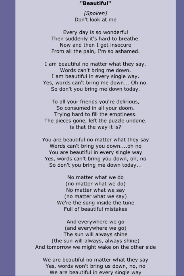 Christina Aguilera Letras De Canciones Canciones Y Letras