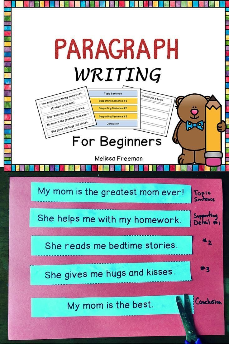 Paragraph Writing | ELAR | Paragraph writing, Second grade writing