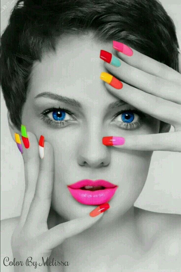 Пин от пользователя Ольга Бушуева на доске color | Ногти