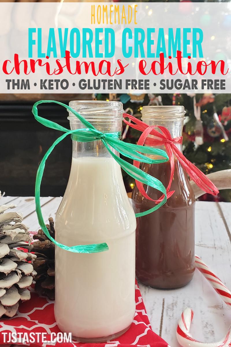 Christmas Edition Homemade Flavored Coffee Creamer