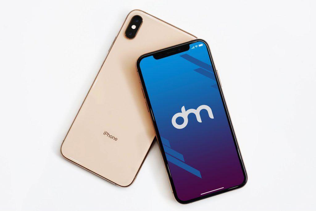 iphone xr case template