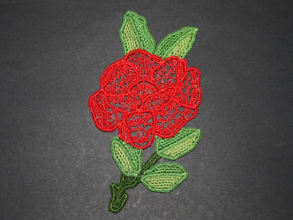 Needlelace Rose