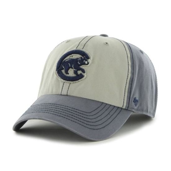 a255cd0aac1 Chicago Cubs Undertow Clean-Up Adjustable Cap by  47 Brand