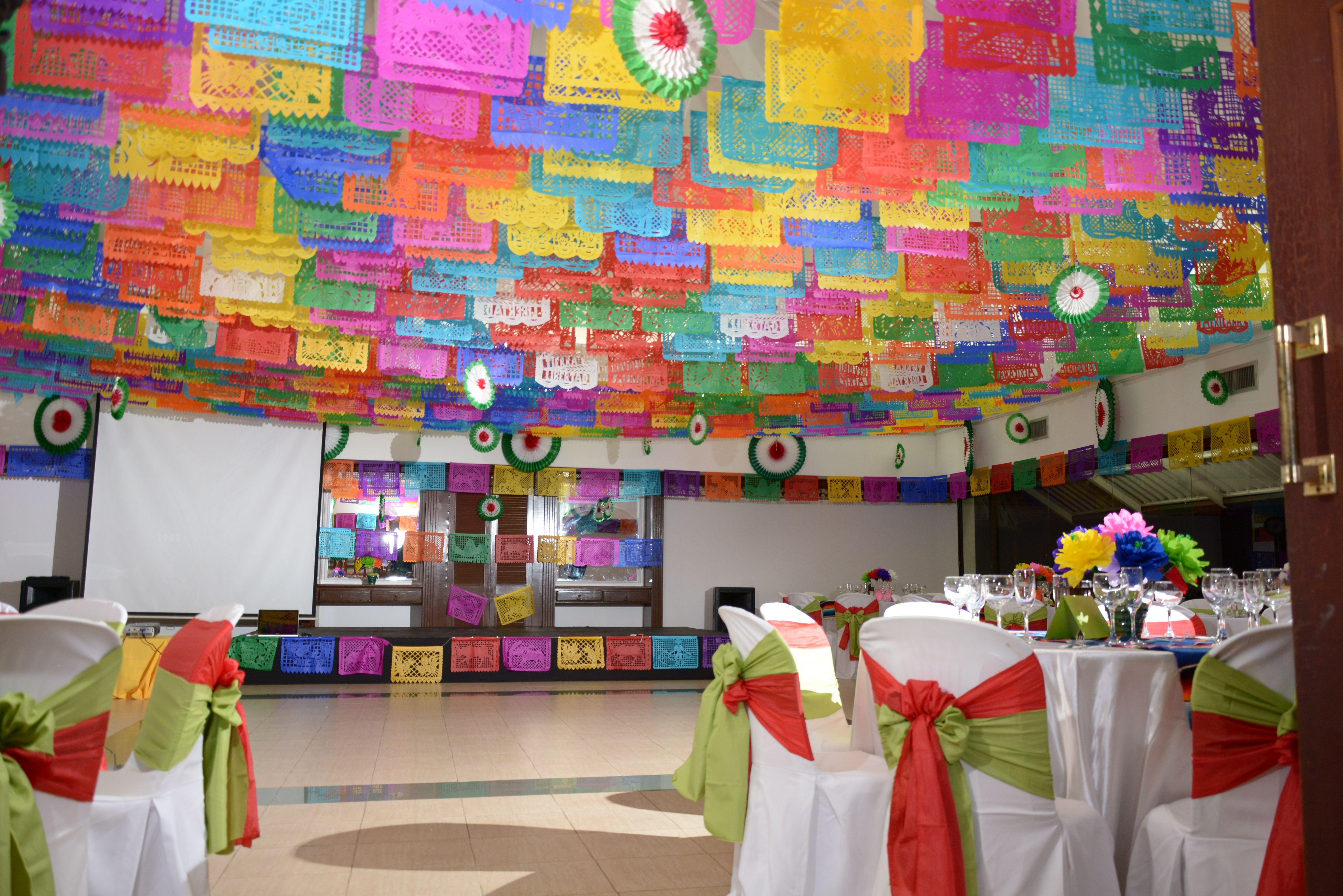 Decoracion salon fiesta mexicana pinterest wedding - Decoracion del salon ...