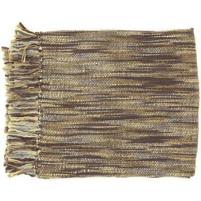 Brayden Studio Charisma Striped Throw Blanket & Reviews | Wayfair
