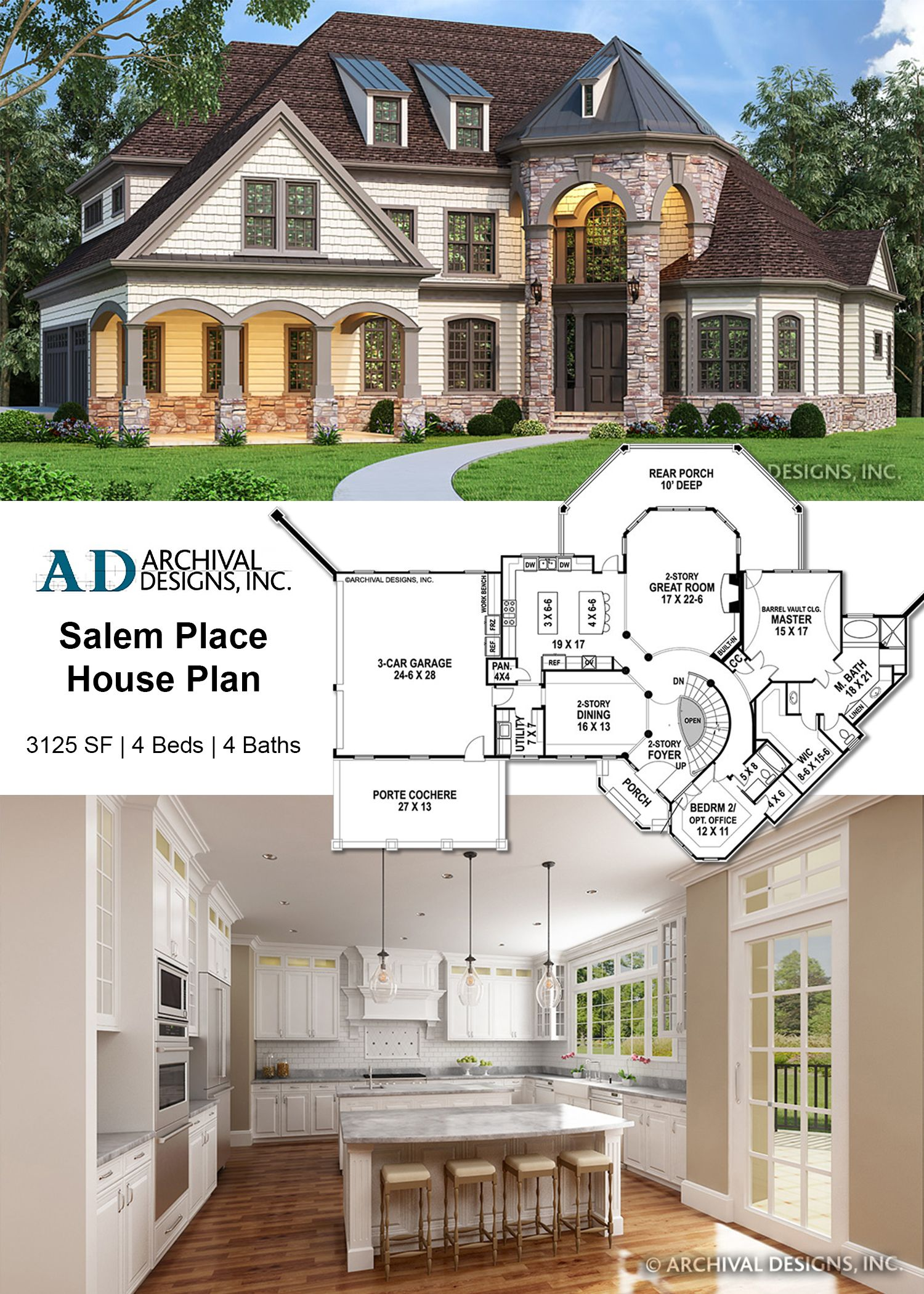 Salem Place House Plan European House House Plans European House Plans