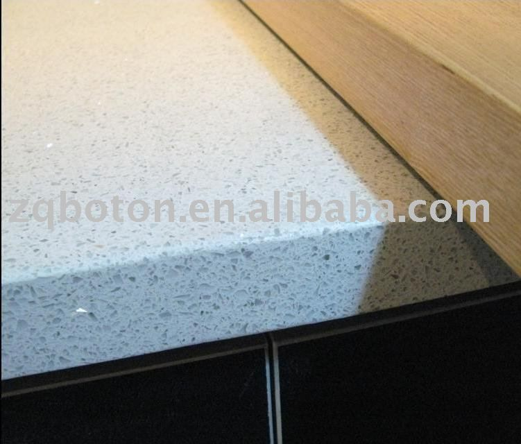 Pure White Mirror Flecks Sparkle Quartz Countertop/ Quartz Cabinet Top/  Quartz Tile   Buy Quartz Countertop,Quartz Cabinet Top,Quartz Tile Product  On ...