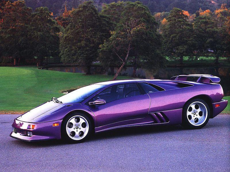 Purple Cars Lamborghini Diablo Lamborghini Diablo Lamborghini