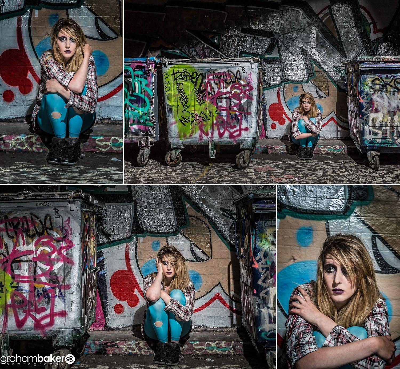 Graffiti wall cambridge - Portfolio Model Shoot Southbank Graffiti Wall And Leake Street