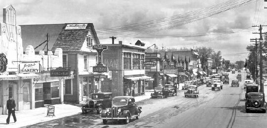 Eastwood in the 1930's