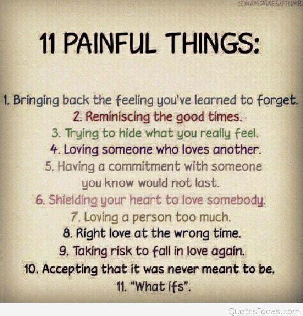 New Sad Sayings