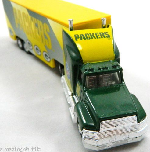 GREEN BAY PACKERS SUPER BOWL XXX1 CHAMPOINS 1:80 SCALE DIECAST TRACTOR TRAILER