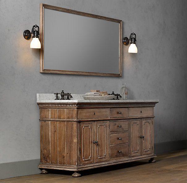 st james double vanity sink double restoration. Black Bedroom Furniture Sets. Home Design Ideas