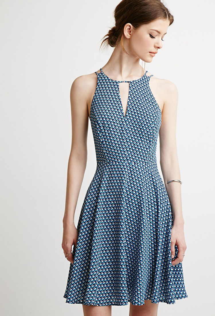 Abstract Print Cami Dress | Forever 21 - 2000113637