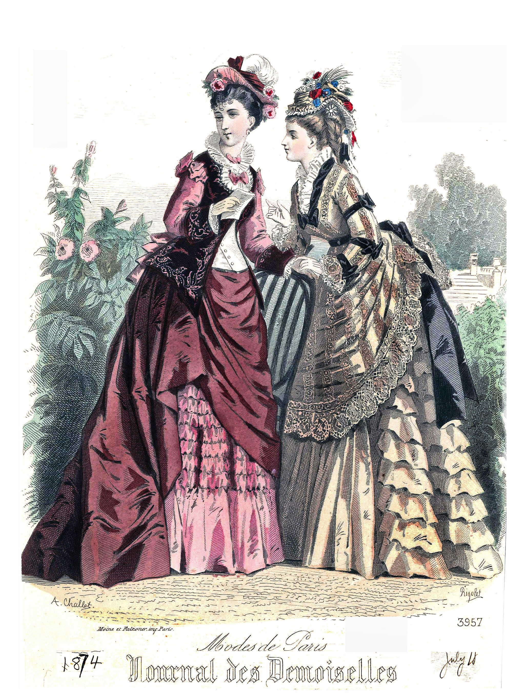 1874 Journal des Demoiselles | About fashion plates | Pinterest ...