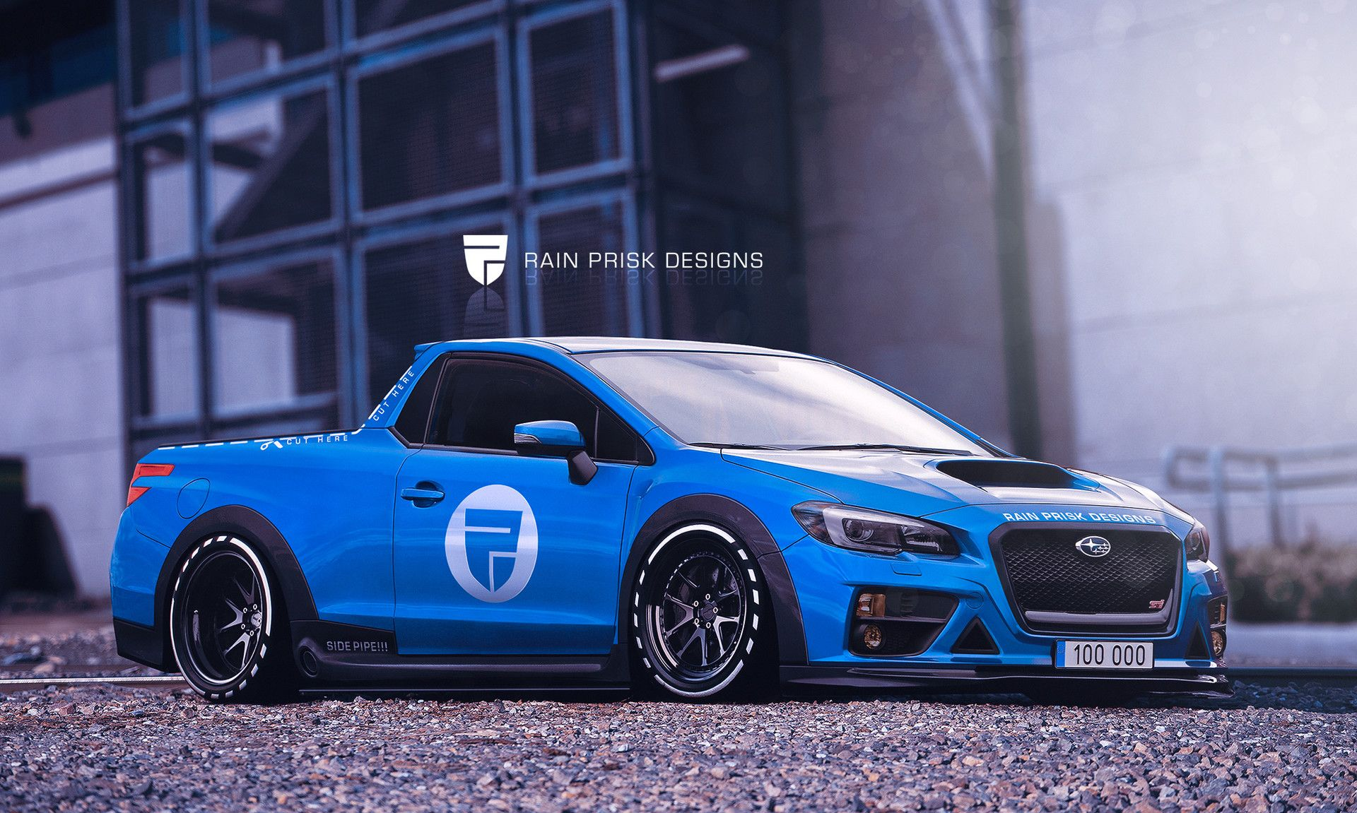 Subaru Baja ute concept by Rain Prisk on ArtStation & HATCHBACK EVERYTHING!!! by Rain Prisk on ArtStation.   ??????? ...