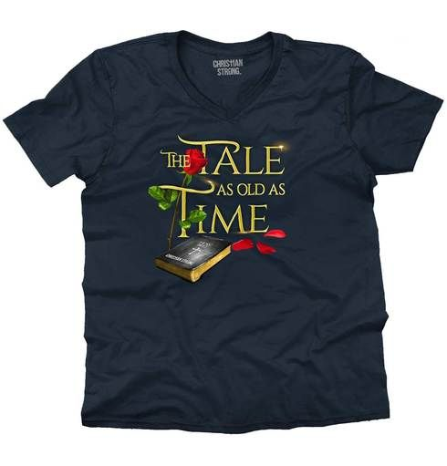Tale Old as Time V-Neck T-Shirt