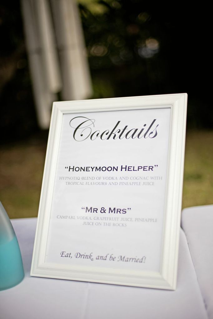 Love The Idea For Cheeky Signature Drink Names Photo By What A Day Wedding Moana Events Drinks Tail Menu
