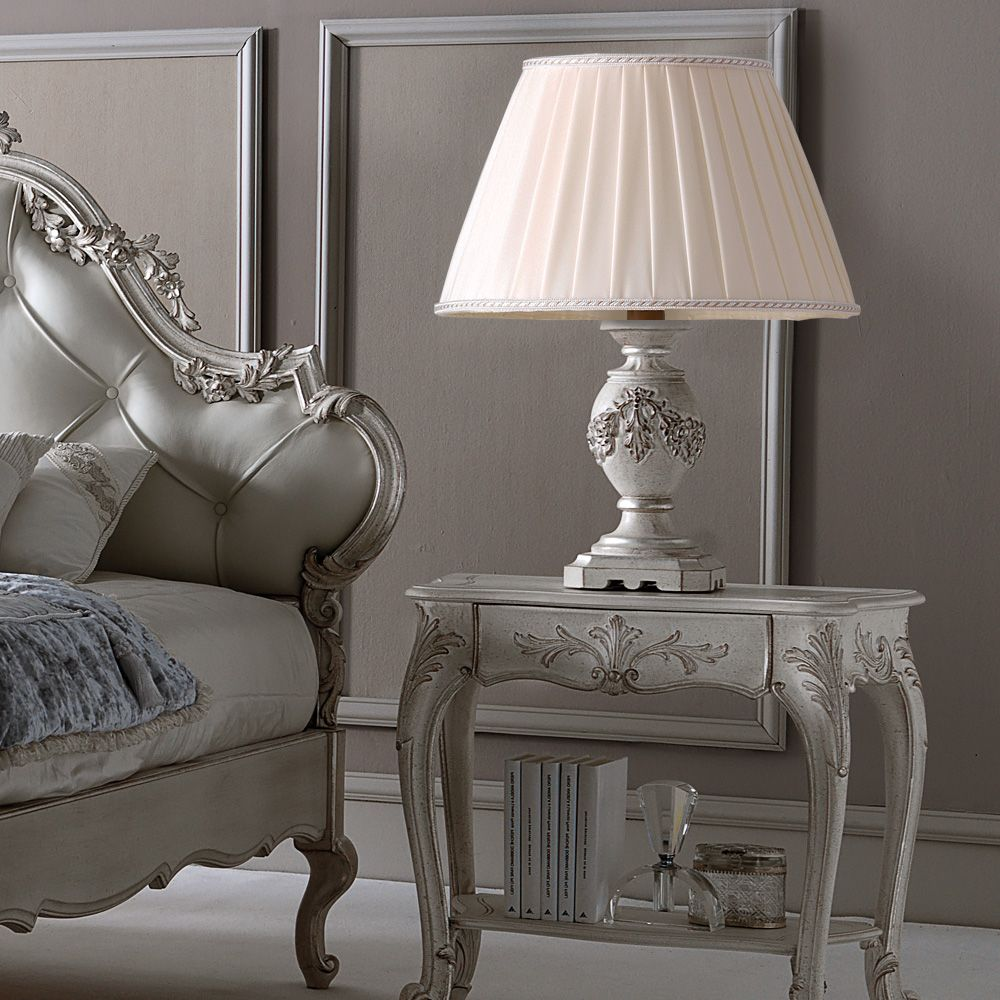 Metropolitan sideboard exclusive furniture luxury table lamps italian ornate carved large pleated shade table lamp bocadolobo geotapseo Image collections