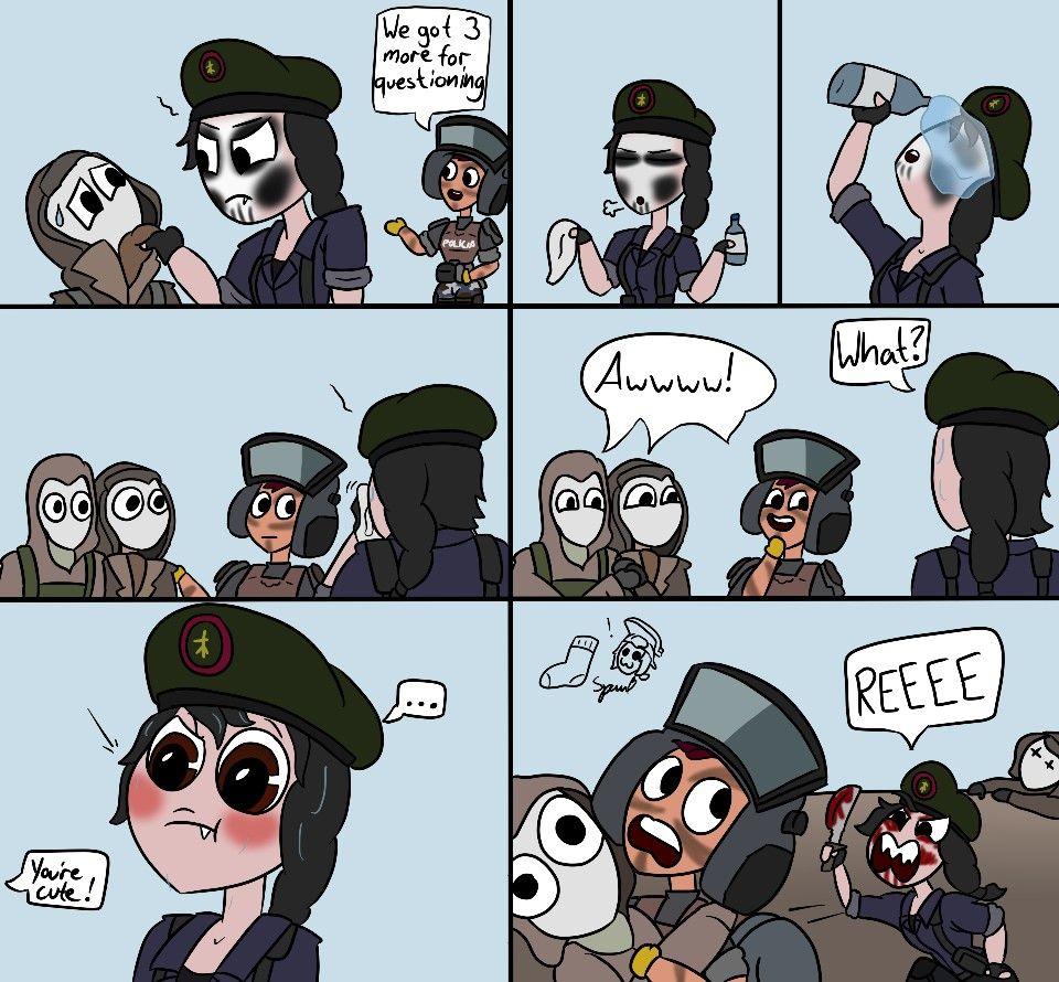 Rainbow Siege Six Rainbow Six Siege Memes Rainbow Six Siege Anime