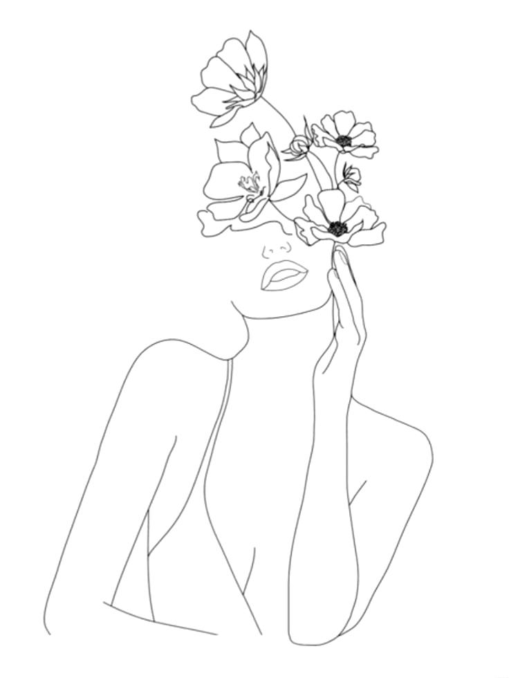 floral illustration – #Floral #Illustration #tätowierung #fl |