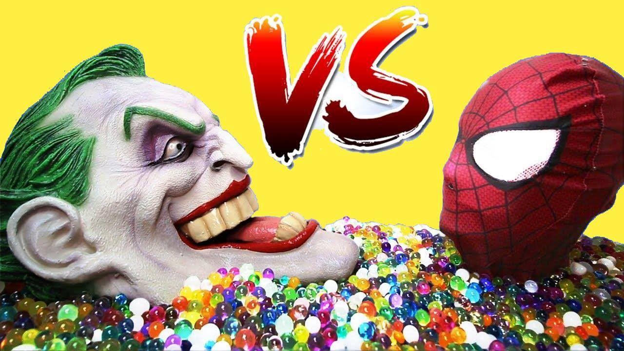 30 ý Tưởng Hay Nhất Về Spiderman Vs Joker And Baby Joker Girl Elsa W Jasmine Funny Superhero Joker Người Nhện Peppa Pig