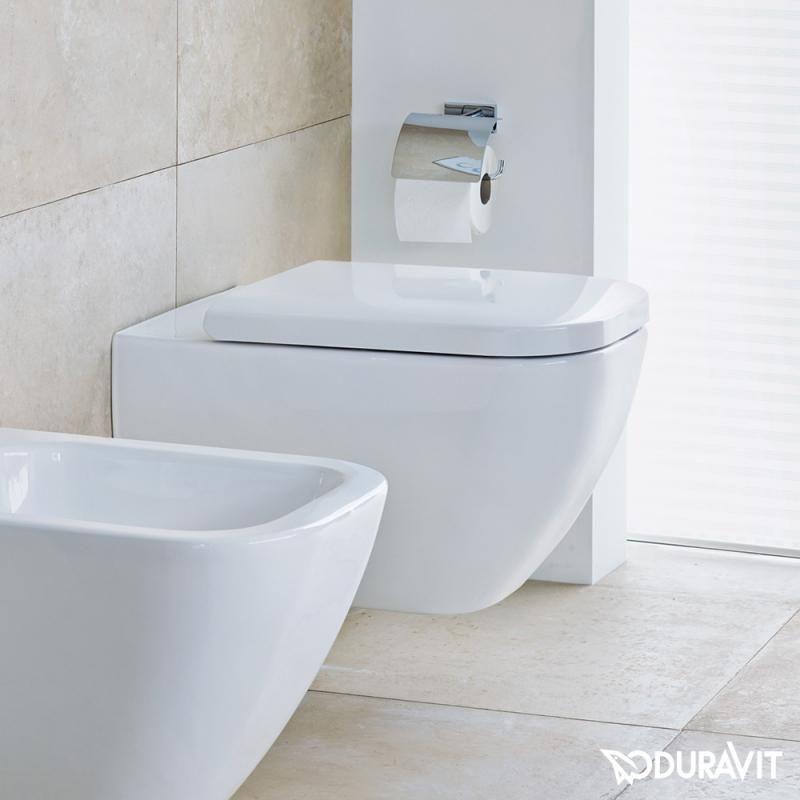 Duravit Happy D 2 Dieses Wc Uberzeugt Mit Einer Zeitlos Klassischen Optik Die Sich Nahtlos In Jedes Baddesign Einfugt W Duravit Wand Wc Badezimmer Farbideen