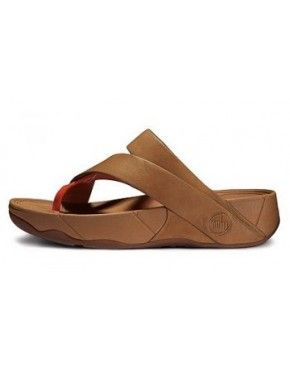 d9f88a81878a FitFlop Sling Leather Tan Orange Women Fitflop Sandals