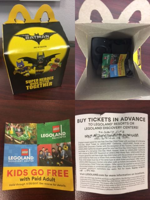 Pick Up A Kids Go Free Coupon Inside A Mcdonald S Happy Meal Then