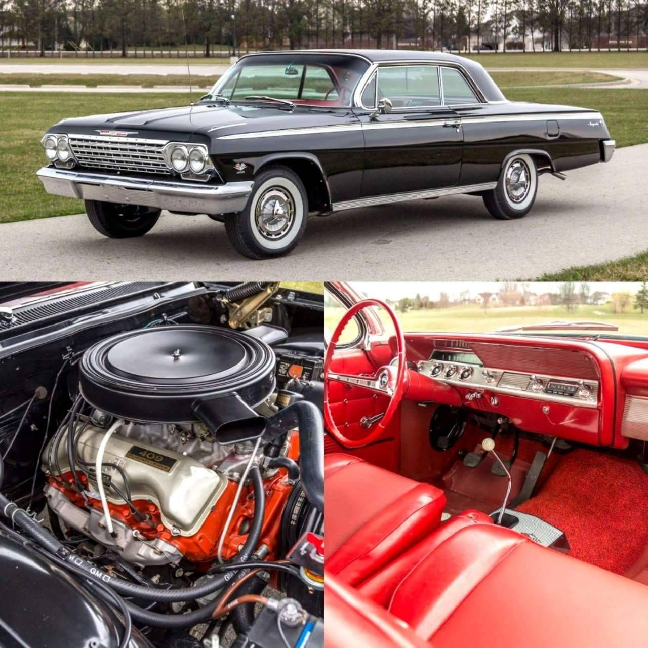 Classic Cars And Women 1962 Chevrolet Impala With A 409