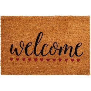 Welcome Hearts PVC Coir Doormat  sc 1 st  Pinterest & Welcome Hearts PVC Coir Doormat | Coir Doormat and Ranges