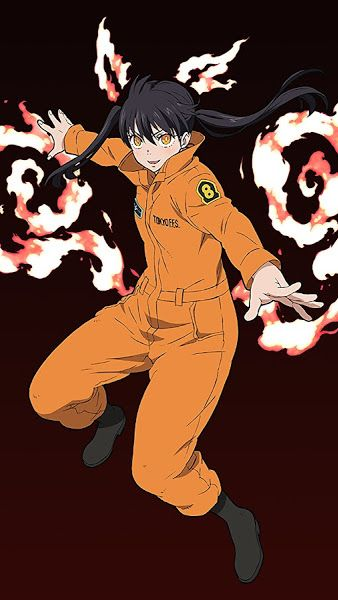 Fire Force Tamaki Kotatsu 4k 3840x2160 Wallpaper Anime Anime Characters Citrus Manga