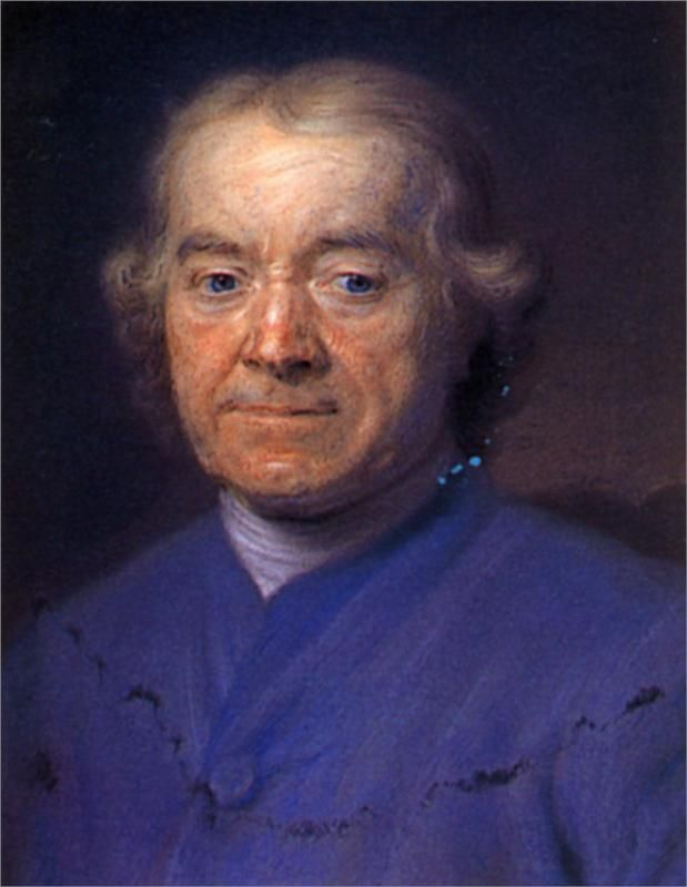 Francois Dachery, childhood friend of Maurice Quentin de La Tour; Maurice Quentin de La Tour