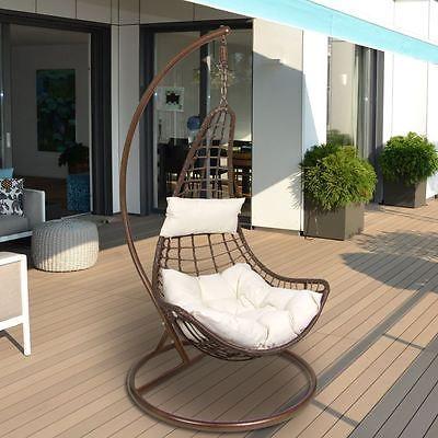 lounge-hängesessel hängeschaukel schaukelstuhl mit gestell und