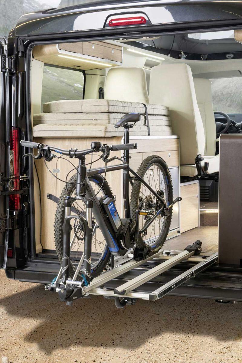 Gallery Bicycle Friendly Campervans Van Storage Bike Storage