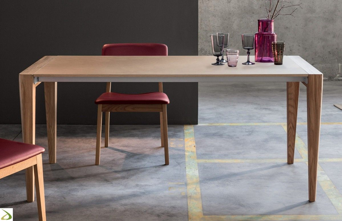 Tavolo allungabile in legno da soggiorno | Soggiorni | Pinterest