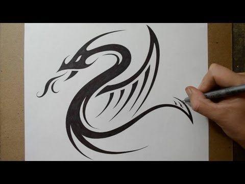 Photo of Entwerfen eines Tribal Dragon Serpent Tattoo Designs –