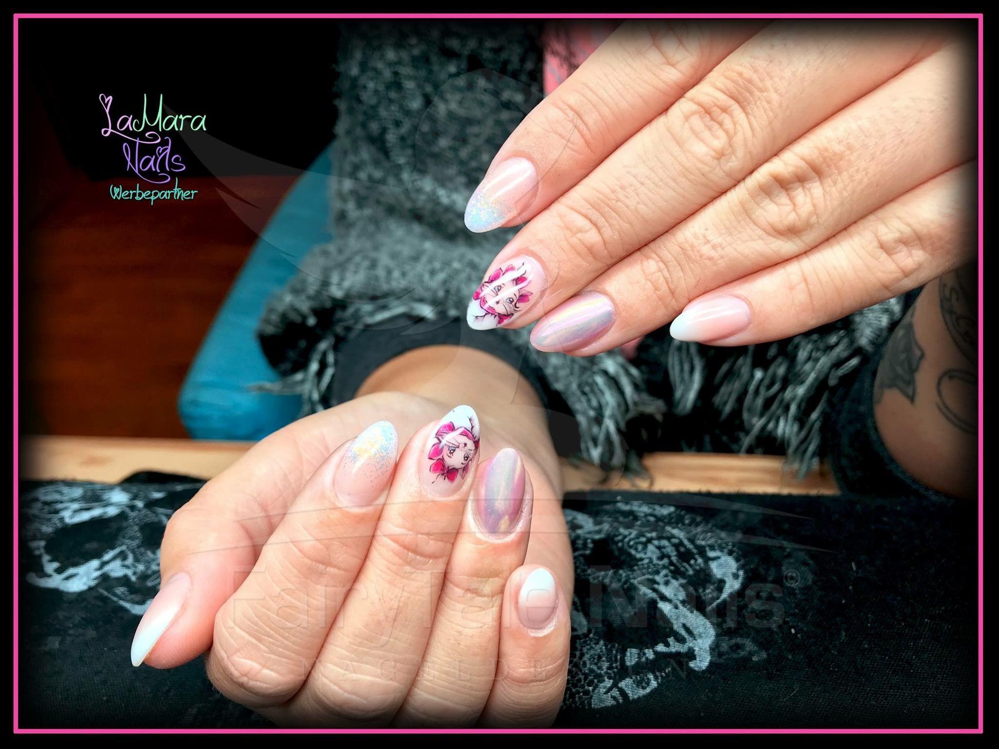 Nageldesign Nails Nailart Crazynails Airbrush Nägel | FairyTale ...