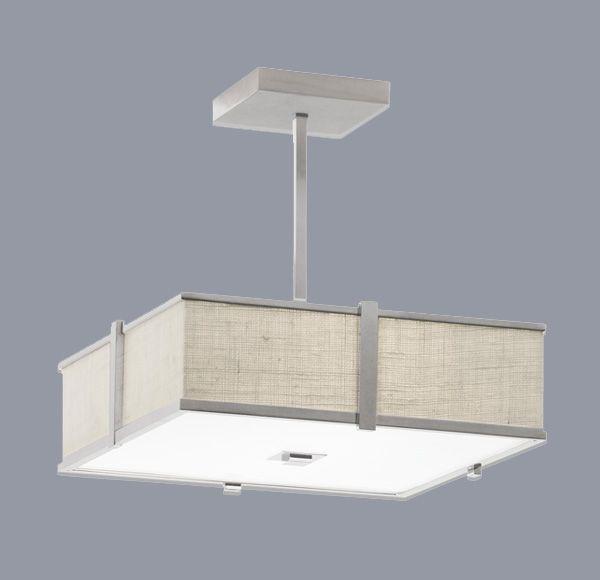 Metropolitan Lighting Fixture Co Hatbox Square