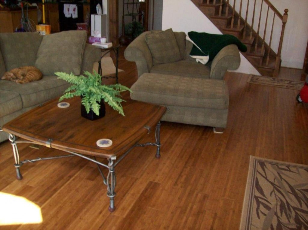 Horizontalcarbonizedbambooflooring Carbonized Bamboo Flooring - What are the pros and cons of bamboo flooring
