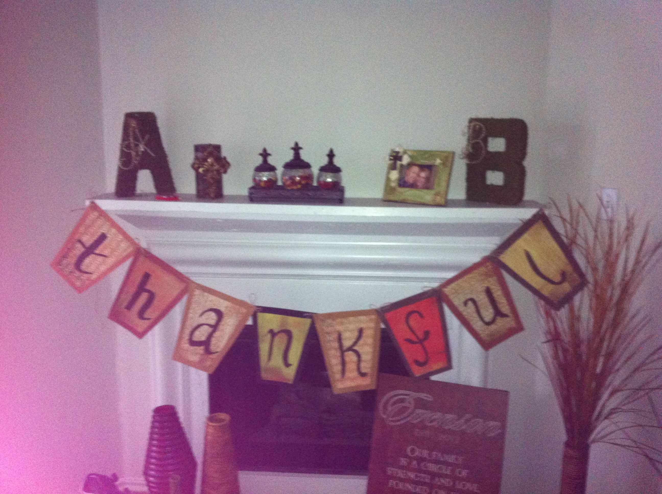Fall banner!! Thankful