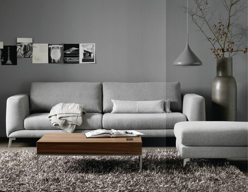 Bo Concept Living Room Grey Flat Decor Boconcept