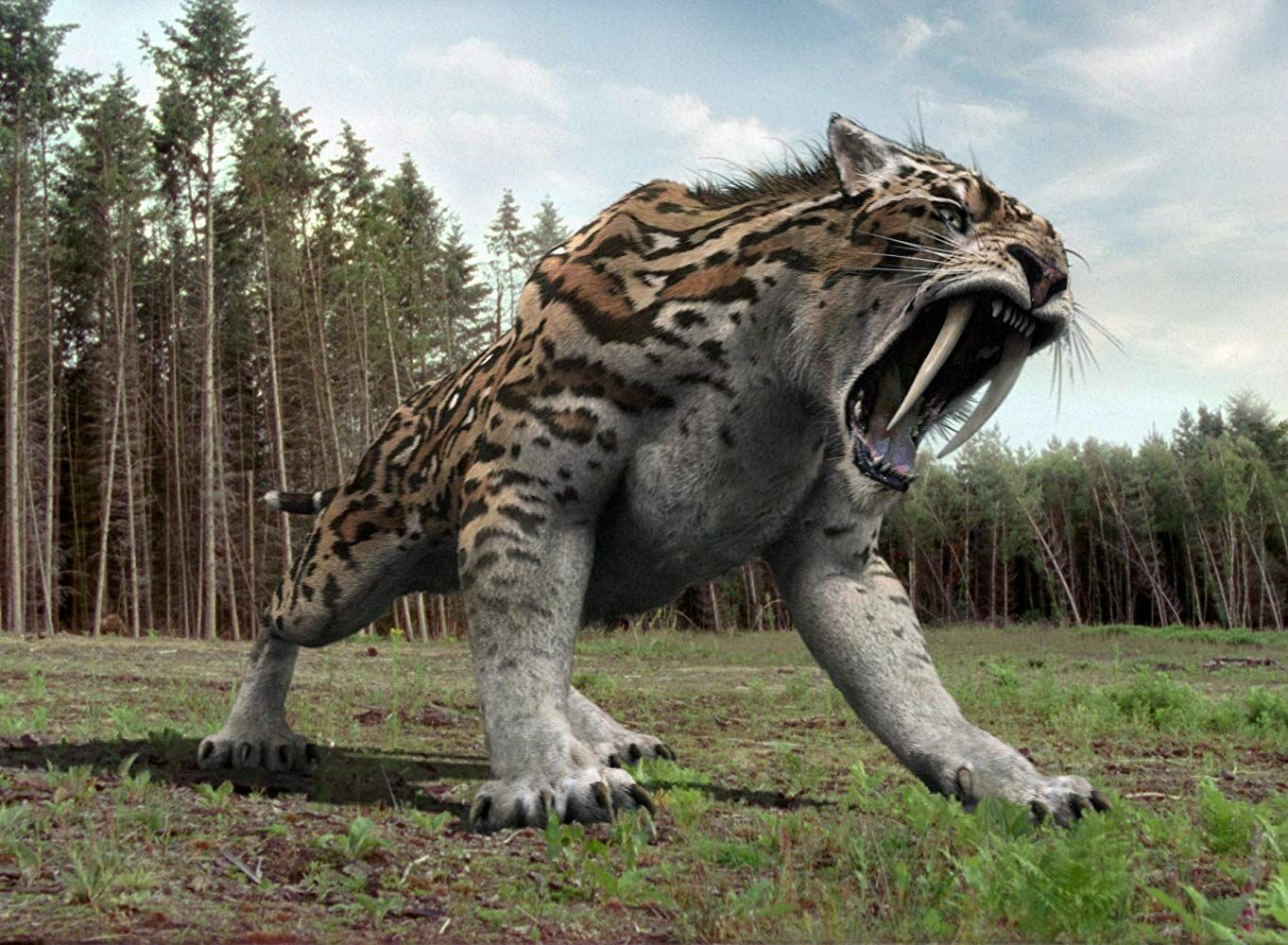 Invasión jurásica (20072011) in 2020 Smilodon, Extinct