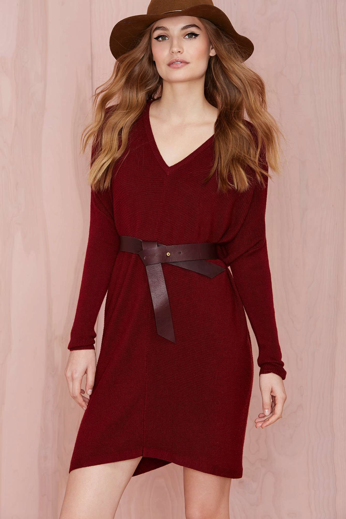 Gabriella Knit Tunic - Burgundy Dress | Dress | Pinterest | Tunics ...