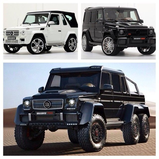 Mercedes Benz G Class Brabus Edition In Small Medium And King