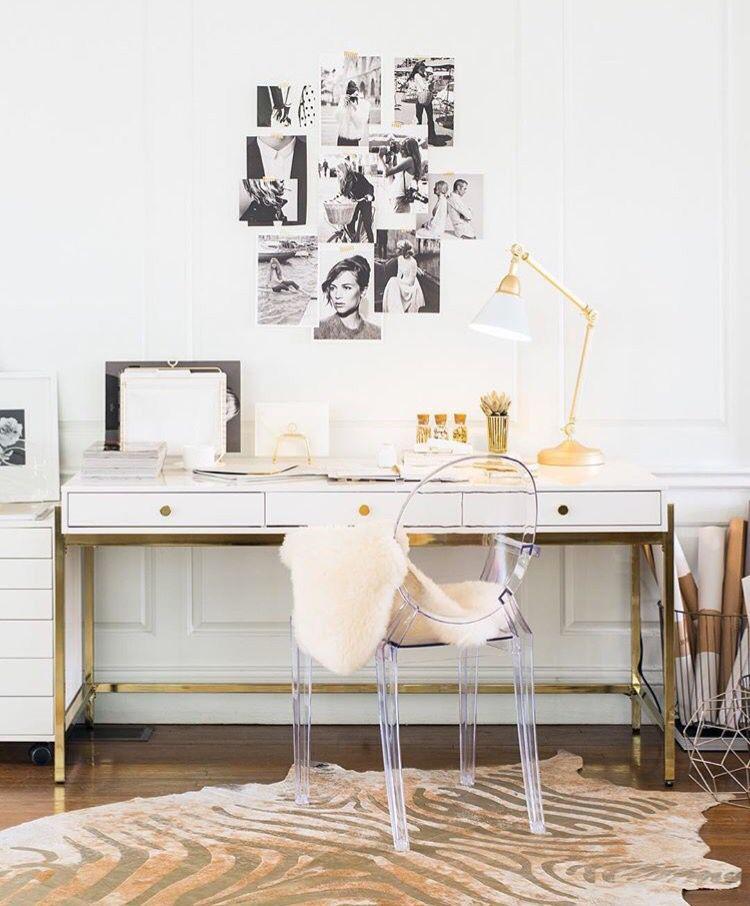 Sugar Paper High Gloss Lacquer Desk